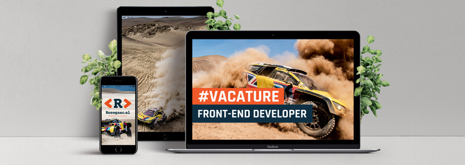 VACATURE: Front-end Developer (40 uur)
